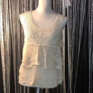 💋5 for 25💋 American Eagle Crocheted Top